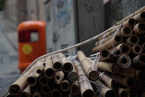 Bamboo, Bundle, Stem, People's Republic Of China, Bunch
