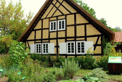 House, Building, Village, Architecture, Facade