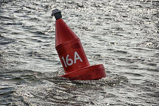 Buoy, Water, Ocean, Maritime, Nature, Beach, Rescue