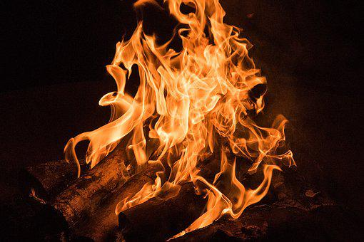 Fire, Campfire, Wood, Burn, Strains, Flame, Light, Hell