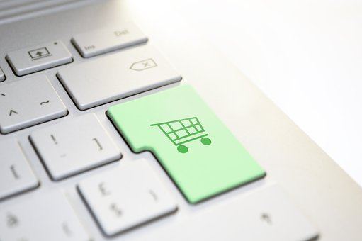 Shopping, Keyboard, Enter, Button, Shopping Cart, Shop
