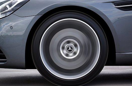Wheel, Car, Automobile, Auto, Speed, Spinning