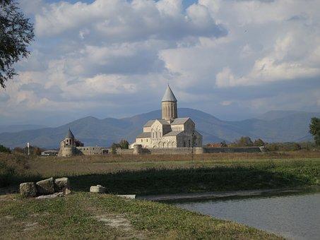 Church, Georgia, Caucasus, Religion, Landmark