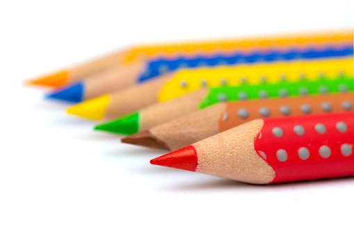 Pencils, Colored Pencils, School, Color, Education