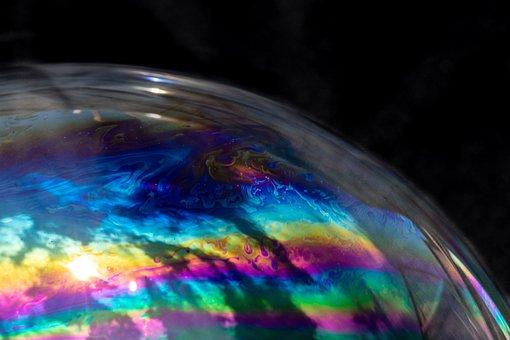 Soap Bubble, Colour, Color, Colourful, Colorful