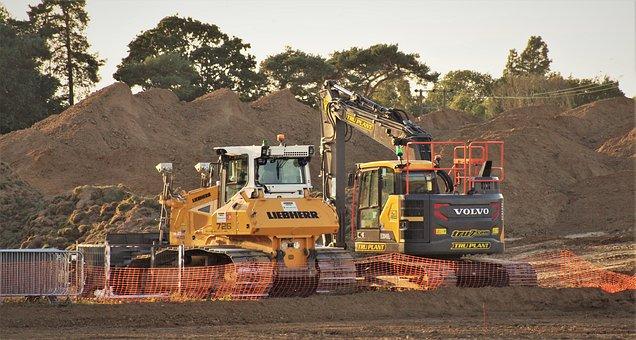 Bulldozer, Excavator, Construction, Digger, Excavate