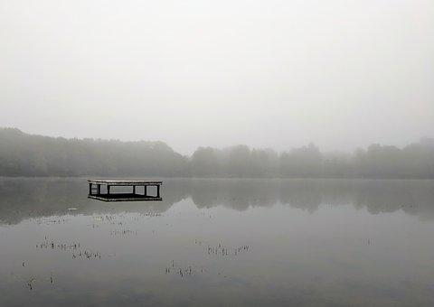 Water, Fog, Lake, Nature, Mood, Atmosphere, Mist