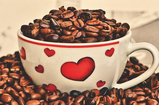 Coffee, Love, Heart, Cup, Valentine's Day, Enjoy