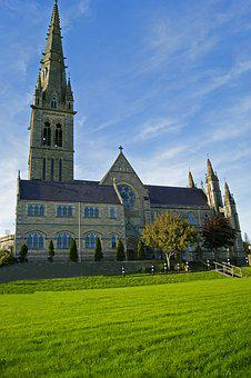 Church, The Cathedral, Tower, Letterkrnny, Ireland