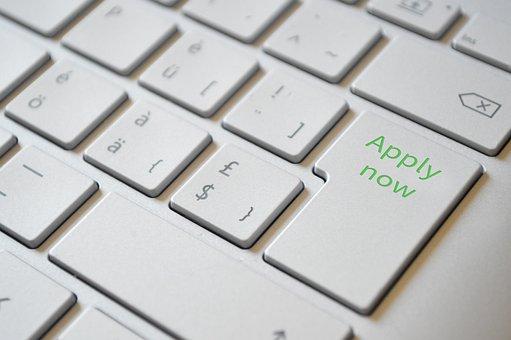 Application, Keyboard, Apply Now, Enter, Button, Input