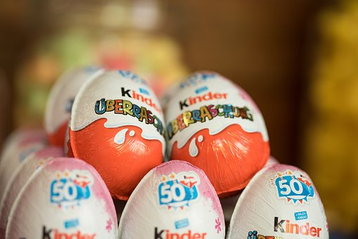 Kinder Surprise, Children, Chocolate, Egg, Toys