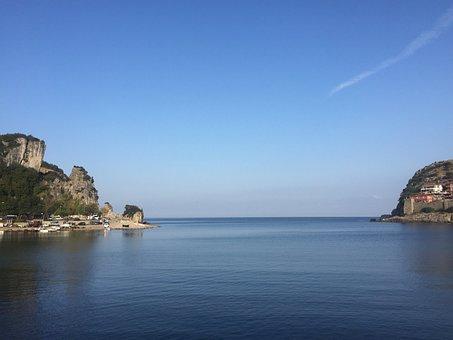 Amasra, Bartin, Marine, Beach, Nature, Landscape, Boat