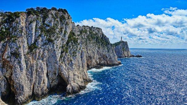 Lefkada, Lefkada Island, Greece, Cape Dukato, Lefkatas