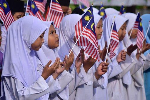 Malaysia, Negaraku, Merdeka, Sekolah, School, Murid