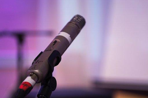 Mic, Microphone, Audio, Performance, Mike, Equipment