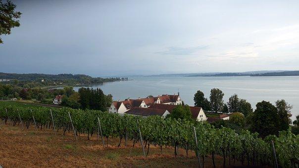 Monastery, Birnau, Lake Constance, Landscape, View
