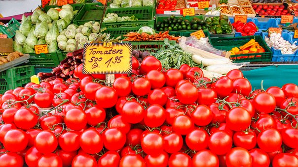 Market, Vegetables, Food, Healthy, Fresh, Nutrition