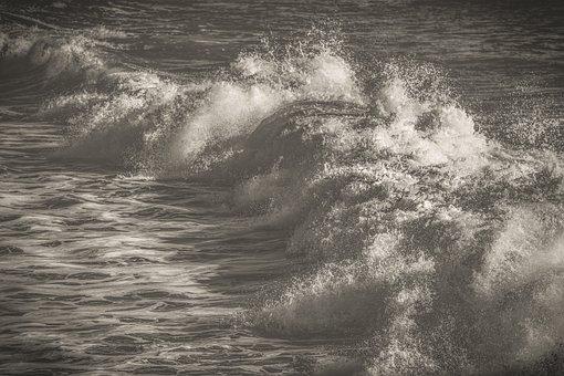 Wave, Foam, Spray, Sea, Nature, Splash, Surf, Ocean