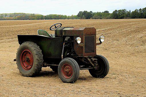 Mba-tractor, Agricultural Tractor, Oldtimer