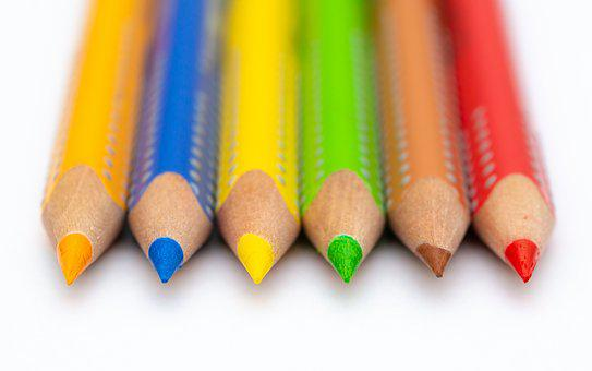 Pencils, Color, Paint, Painting, Colorful, Stationery