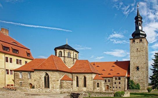Germany, Querfurt, Castle Querfurt, Castle