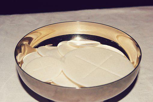 Komunikant, Waffle, Communion, Church, Religion
