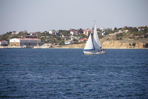 Sailboat, Yacht, Sea, Sail, Ship, Water, Mast, Boat