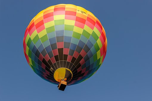 Balloon, Hot Air Balloon, Sky, Ballooning, Air, Escape