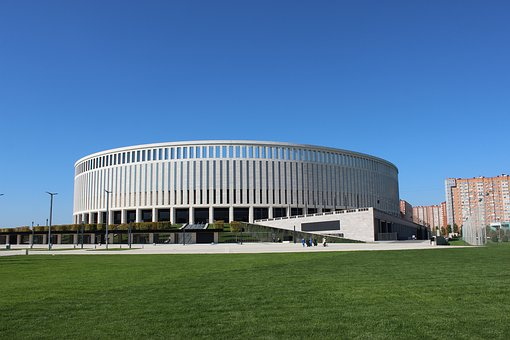 Krasnodar, Russia, Sports, Stadium, Football