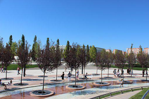 Krasnodar, Russia, Sports, Stadium, Football, Park