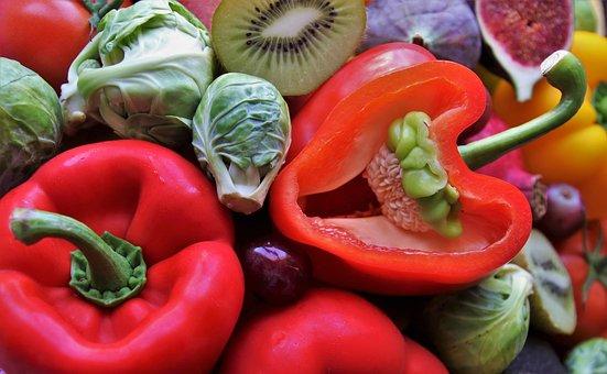 Paprika, Vegetables, Vitamins, Red, Bio, Diet