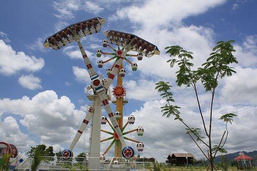 Myanmar, Nay Pyi Daw, Amusement Park, Ride