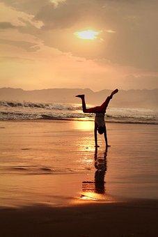 Beach, Child, Play, Holiday, Happy, Sand, Fun
