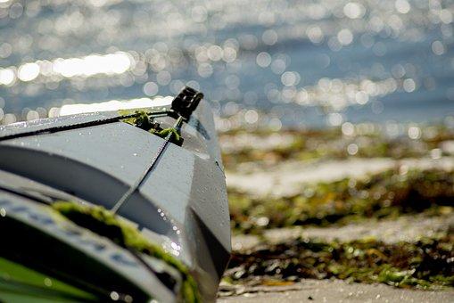Boat, Kayak, Sea, Calm, Beach