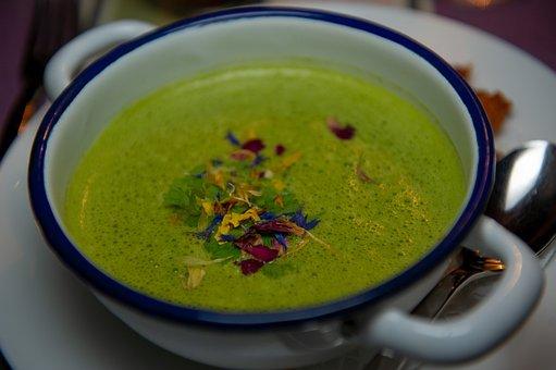 Chard, Swiss Chard Soup, Soup, Spinach, Food, Bowl