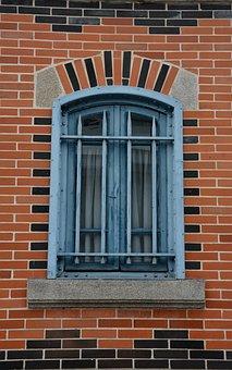Window, Halles, Limoges, Brick, Building, Old