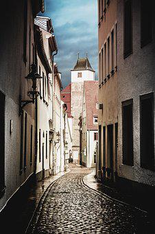 Alley, Houses, Historic Center, City, Building, Old