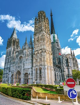 Rouen, Cathedral, Building, Normandy, Healthy-maritime