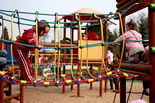Children, Web, Playground, Game Device