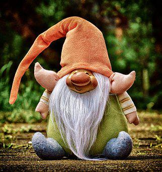 Imp, Cute, Funny, Figure, Sweet, Deco, Are, Dwarf