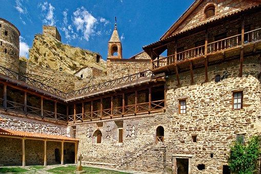 Georgia, Monastery Dawit Gareja, Monastery