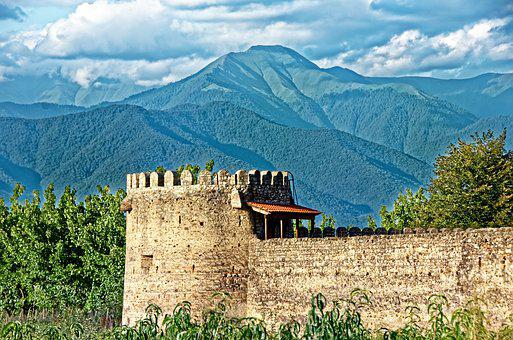 Georgia, The Monastery Of Alaverdi, Monastery
