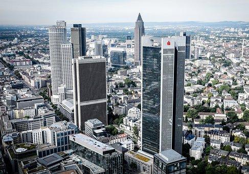 Frankfurt, Main, Skyscraper, Architecture, Germany