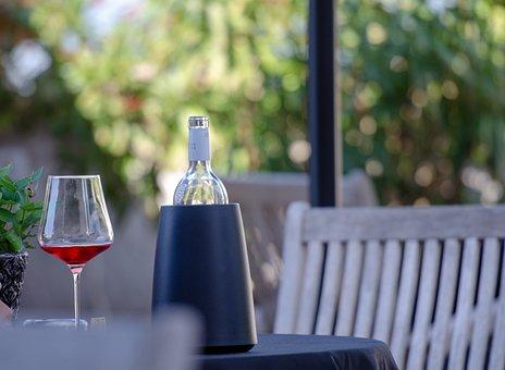 Wine, Rose, Bottle, South Tyrol, Glass, Drink, Alcohol