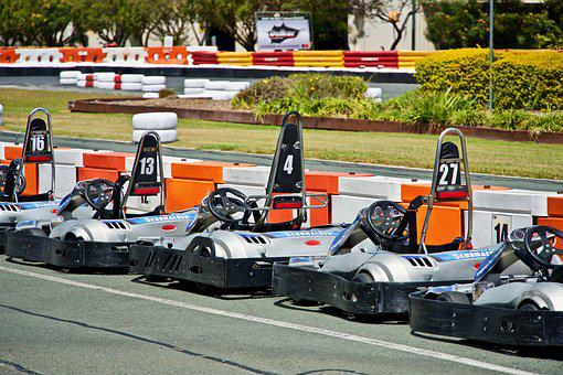 Gocarts, Racing, Lineup, Track, Speed, Karting, Carting