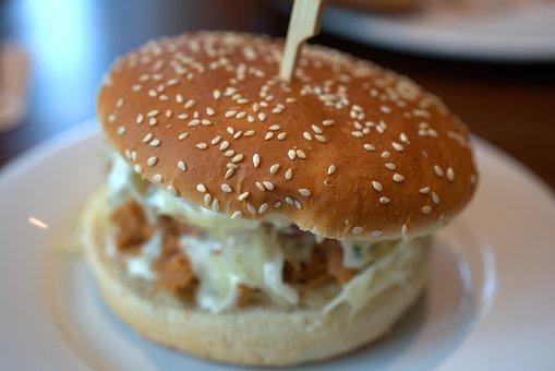 Hamburger, Cook, Burger, Meat, Cheeseburger, Fast Food