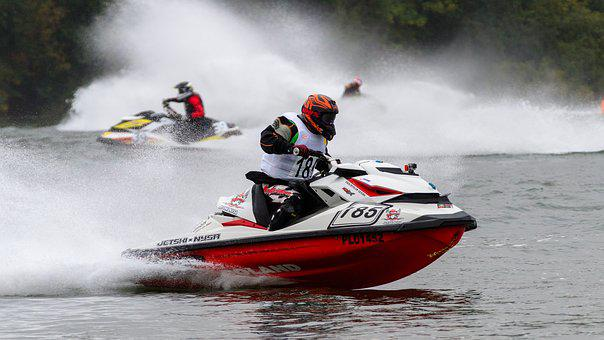 Motor Boat Race, Jet Ski, Sport, Water Sports, Racing