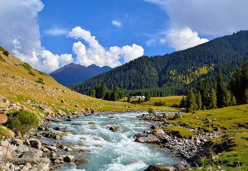 Mountain, Landscape, Nature, Clouds, Mountains