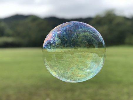 Bubbles, Natural, Park, Bubble, Landscape