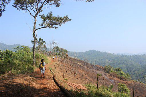 Road, Trekking, Landscape, Hiking, Mountaineering